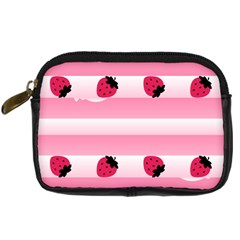 Strawberry Cream Cake Digital Camera Leather Case by strawberrymilk
