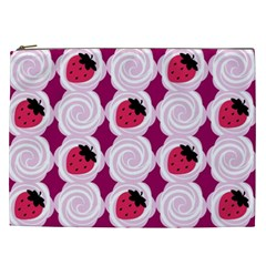 Cake Top Grape Cosmetic Bag (XXL) by strawberrymilk