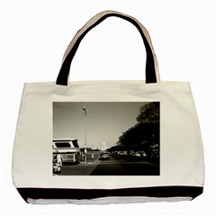 Vintage Usa Washington The Capitol 1970 Black Tote Bag