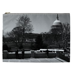 Vintage USA Washington The Capitol 1970 Cosmetic Bag (XXL) by Vintagephotos