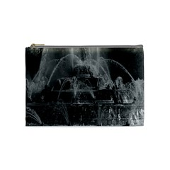 Vintage France Palace Of Versailles Latona Fountain Medium Makeup Purse by Vintagephotos
