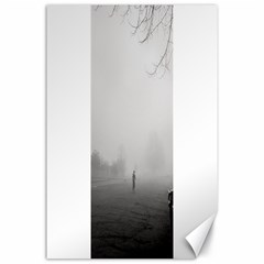 Foggy Morning, Oxford 24  X 36  Unframed Canvas Print by artposters