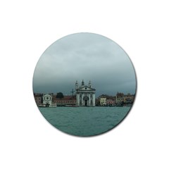 Venice 4 Pack Rubber Drinks Coaster (round) by PatriciasOnlineCowCowStore