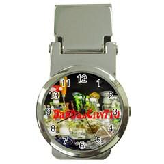 Dabdabcity710 Money Clip With Watch