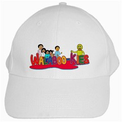 Walabookies stickers White Baseball Cap by walabookies