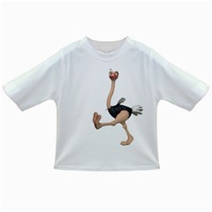 Ostrich 1 Baby T-shirt by gatterwe