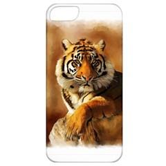 Tiger Apple Iphone 5 Classic Hardshell Case
