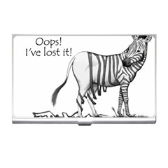 Lost Business Card Holder by cutepetshop