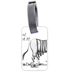 Lost Luggage Tag (one Side) by cutepetshop