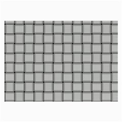 Gray Weave Glasses Cloth (large) by BestCustomGiftsForYou