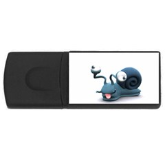 Funny Snail 4gb Usb Flash Drive (rectangle)
