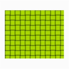 Fluorescent Yellow Weave Glasses Cloth (small, Two Sided) by BestCustomGiftsForYou