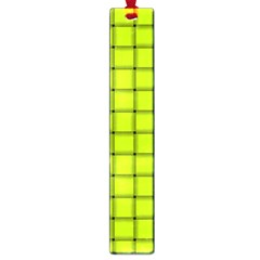 Fluorescent Yellow Weave Large Bookmark by BestCustomGiftsForYou