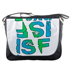 Isf & Ryot Design Messenger Bag by MLWartstore