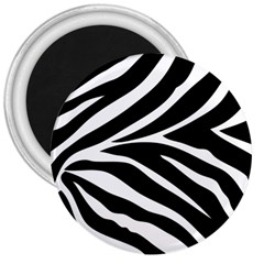 Black And White 3  Button Magnet by Contest1624092