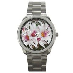 Bloom Cactus  Sport Metal Watch