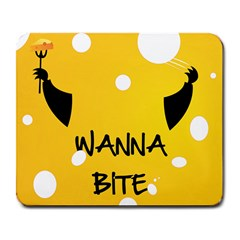 Wanna Bite Large Mouse Pad (rectangle) by Contest1700253