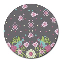 Extinct Birds 8  Mouse Pad (round) by Contest1702305