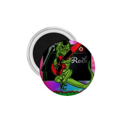 Rock Out Like An Iguana 1 75  Button Magnet