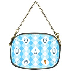 Plaid Bunny Chain Purse (one Side) by Contest1612479