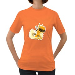 Kitty Womens' T Shirt (colored)
