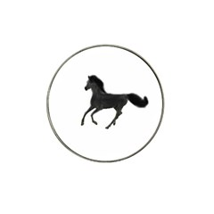 Running Horse Golf Ball Marker (for Hat Clip) by mysticalimages