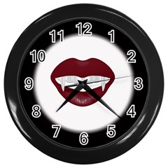Vampire Inspired Wall Clock (black) by Contest1553012