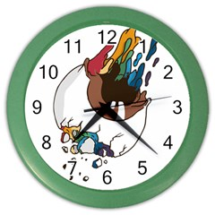 Watch it Wall Clock (Color) by Contest1714880