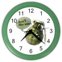 Grenade  Wall Clock (Color) by Contest1734409