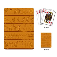 Futuglyphics Playing Cards Single Design by DesignsbyReg