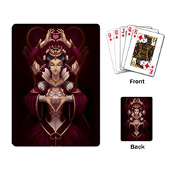 Queen Of Hearts Playing Cards Single Design by Contest1706914