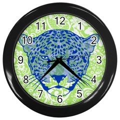 Cheetah Alarm Wall Clock (black) by Contest1738807