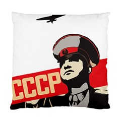 Soviet Red Army Cushion Case (two Sided)  by youshidesign