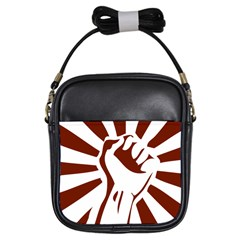 Fist Power Girl s Sling Bag by youshidesign