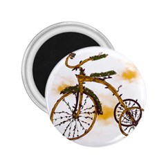 Tree Cycle 2.25  Button Magnet by Contest1753604