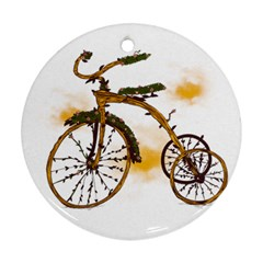 Tree Cycle Round Ornament by Contest1753604