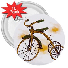 Tree Cycle 3  Button (10 pack) by Contest1753604