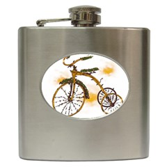 Tree Cycle Hip Flask by Contest1753604