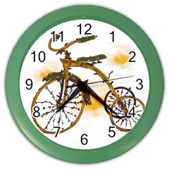 Tree Cycle Wall Clock (Color) by Contest1753604