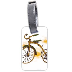 Tree Cycle Luggage Tag (one Side) by Contest1753604