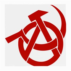 Hammer Sickle Anarchy Glasses Cloth (medium) by youshidesign