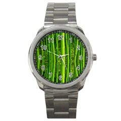 Bamboo Sport Metal Watch