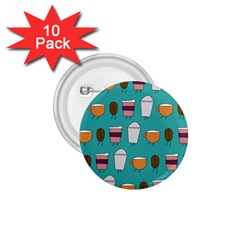 Time for coffee 1.75  Button (10 pack) by PaolAllen