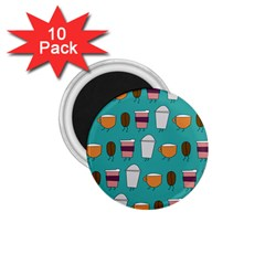 Time for coffee 1.75  Button Magnet (10 pack) by PaolAllen