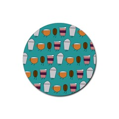 Time For Coffee Drink Coasters 4 Pack (round) by PaolAllen
