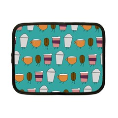 Time For Coffee Netbook Case (small) by PaolAllen