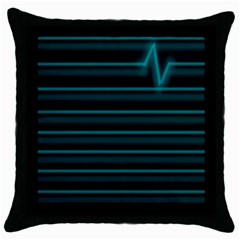 I m Alive Throw Pillow Case (black) by PaolAllen
