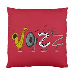 Jazz Cushion Case (single Sided)  by PaolAllen