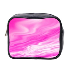 Background Mini Travel Toiletry Bag (two Sides) by Siebenhuehner