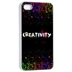 Creativity  Apple Iphone 4/4s Seamless Case (white) by TheTalkingDead